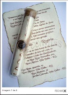 Convites de Casamento em fotos e imagens