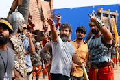 Baahubali on location Working stills-thumbnail-4