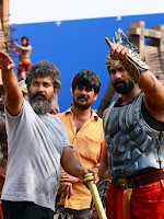 Baahubali on location Working stills-cover-photo