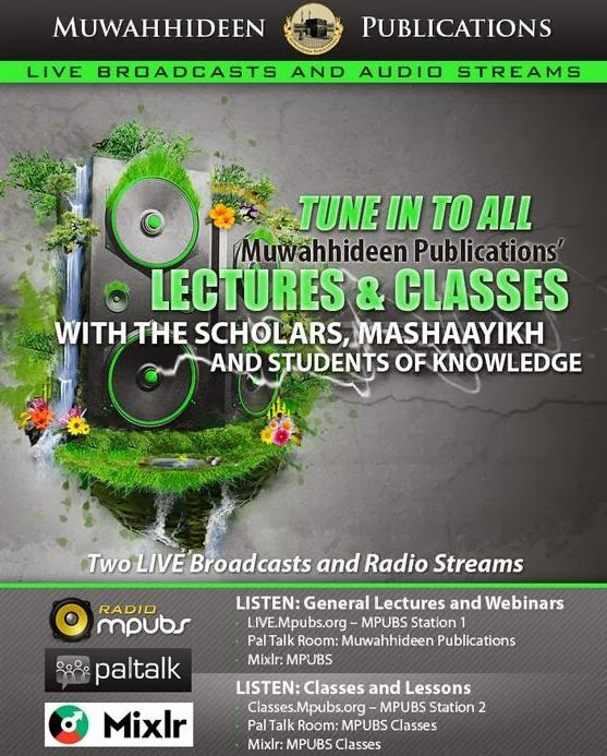 YOU CAN ALWAYS LISTEN LIVE TO MPUBS CLASSES AND EVENTS