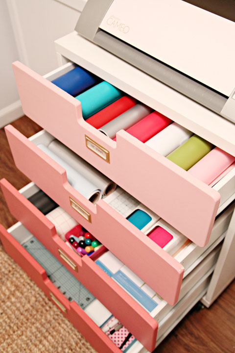 Iheart Organizing Studio Progress Crafty Storage Cart
