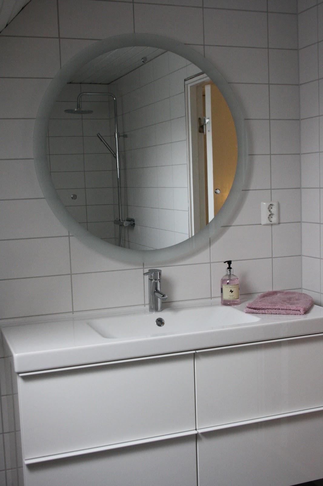 Spegel badrum rund ~ Xellen.com