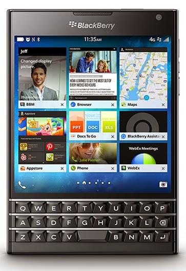 Harga Blackberry Passport dan Spesifikasi