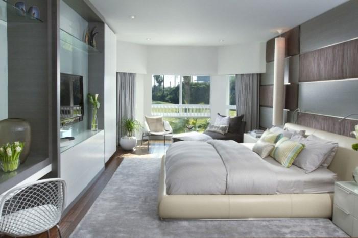 Hogares frescos dise o interior de una casa moderna en for Muebles modernos en miami florida