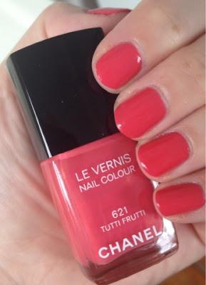 Chanel, Chanel Tutti Frutti, Chanel Le Vernis Nail Colour, nail polish, nail lacquer, nail varnish, manicure, mani, mani monday, #manimonday, nails