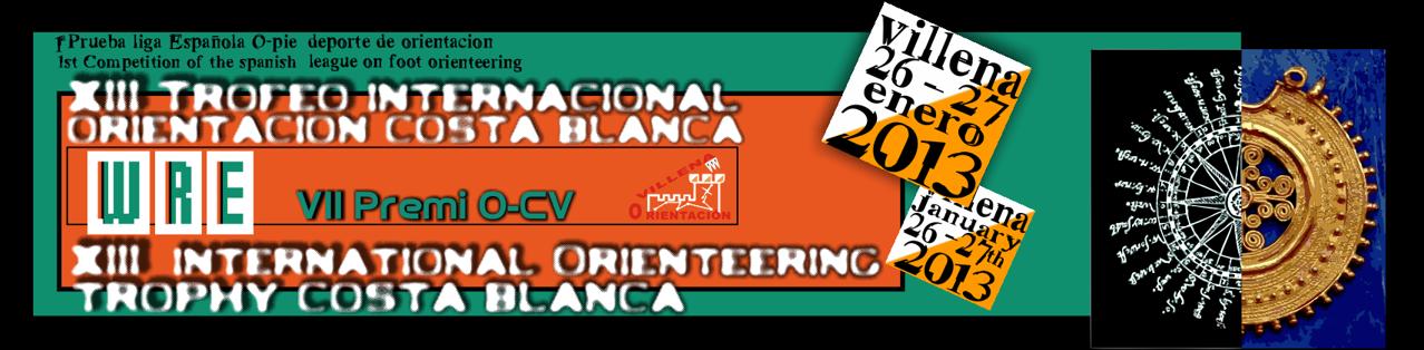 XIII Trofeo Internacional Orientación Costa Blanca 2013