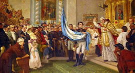 CREACIÓN BANDERA DE LA REPÚBLICA ARGENTINA. 27 de Febrero de 1812