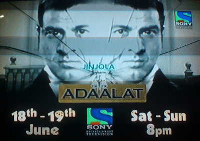 Adaalat on Sony TV
