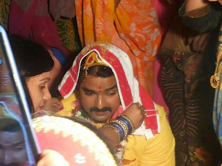 Bhojpuri Actor Pawan Singh Tilak Ceremony : Photo ~ Download Free Apk