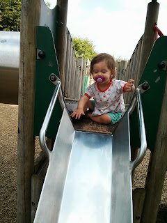 youngest down slide