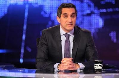 باسم يوسف يؤجل عرض برنامجه لثلاث أسابيع