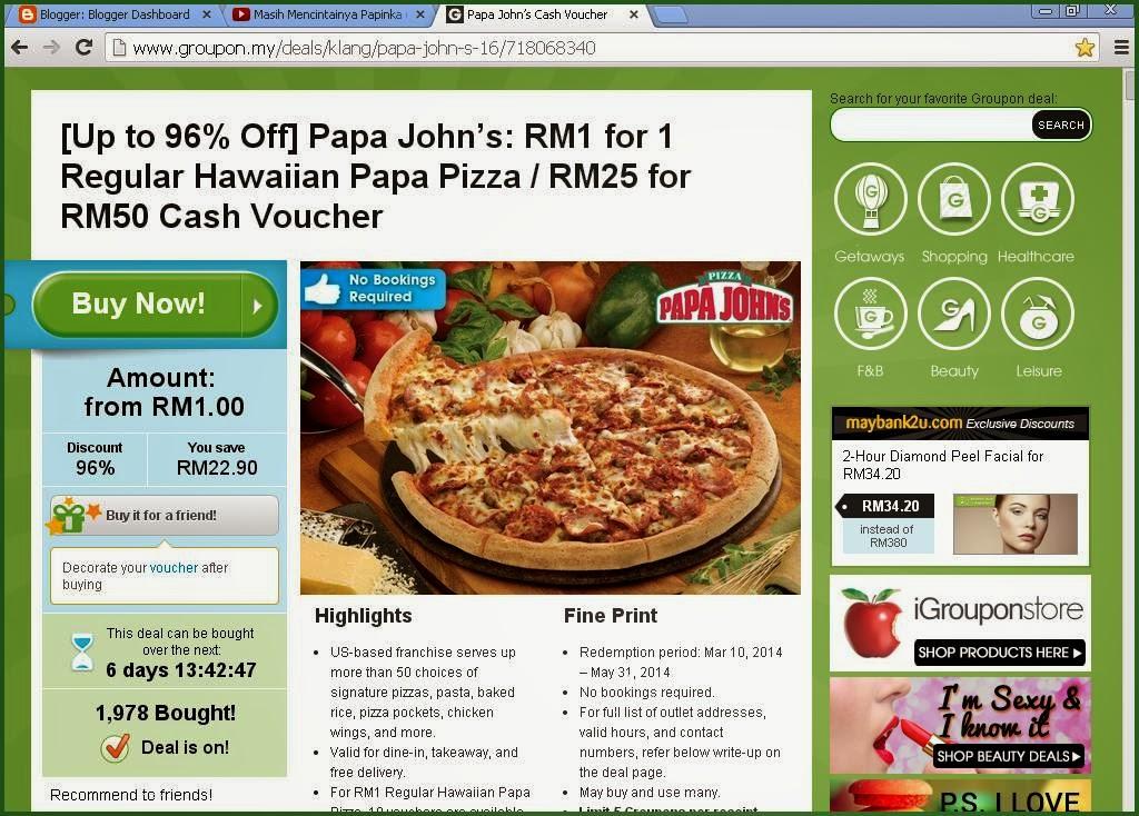 pizza murah di pasaran