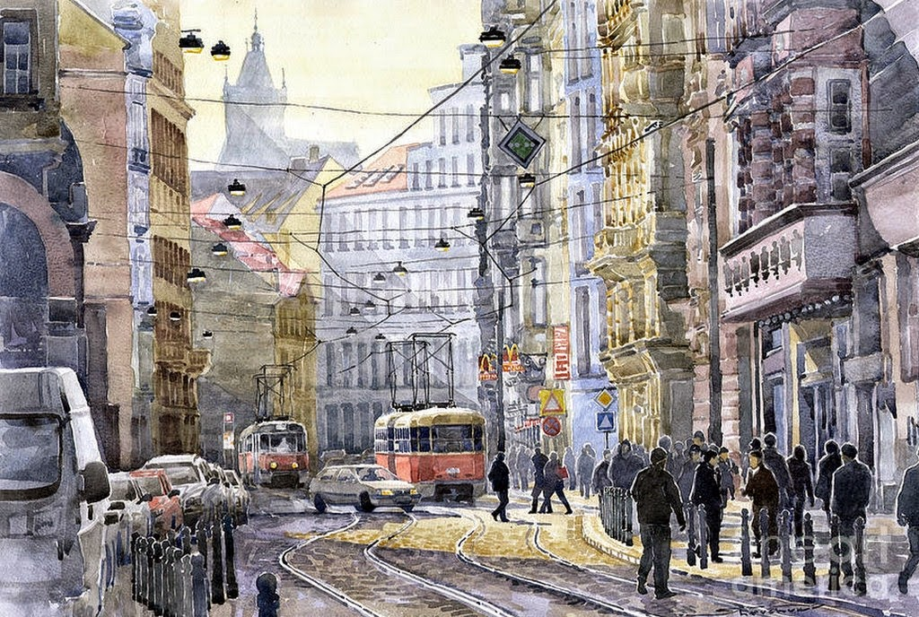 imagenes-paisajes-ciudades-con-acuarela