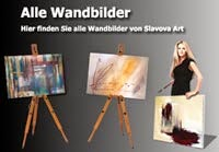 Wandbilder und Acrylbilder Slavova Art