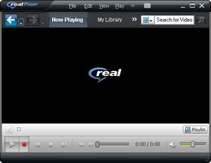 Download RealPlayer and play All Kind of video files