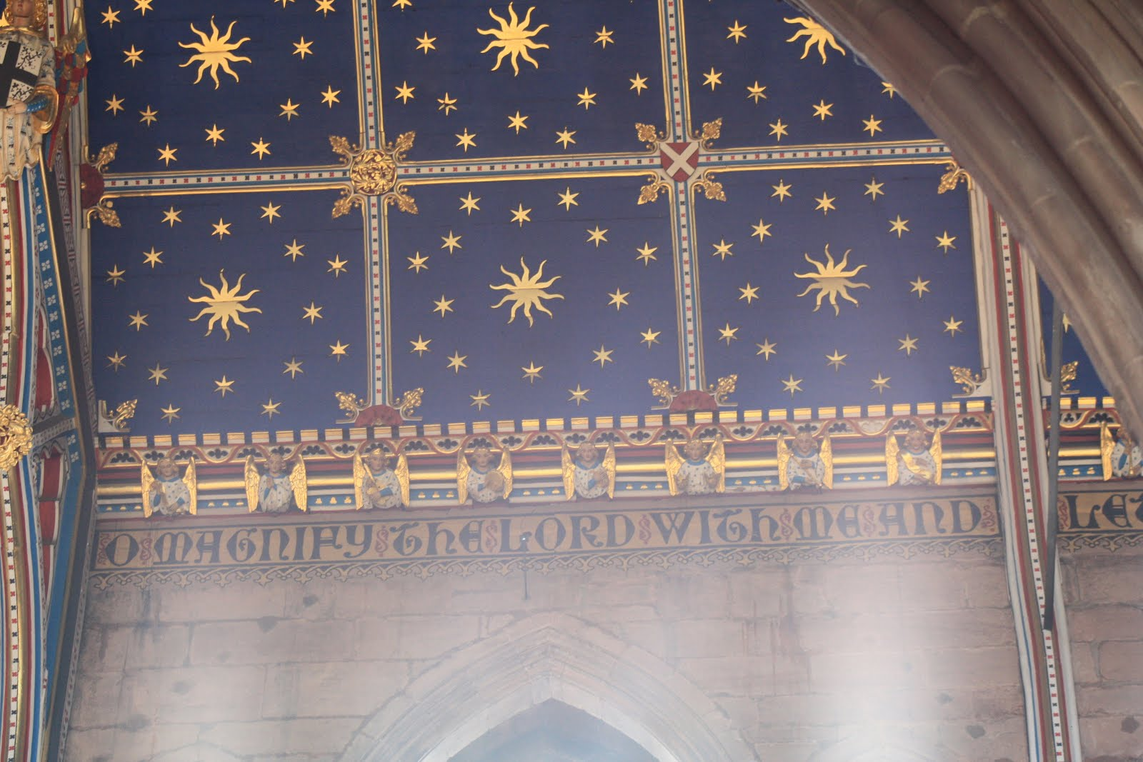 Carlisle Cathedral Ceiling