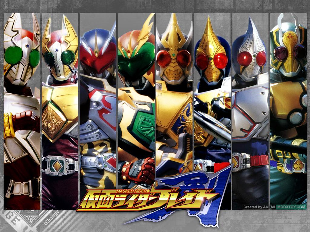 1001 Tokusatsu: Download Kamen Rider Blade Series [complete]
