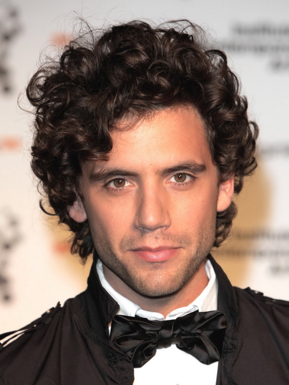 Curly hairstyle for men 2013 The Best Pictures Collection About Hairstyles and Fashion