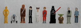 Star Wars, C3PO, R2D2, Chewbacca, Han Solo, Prinzessin Leia, Luke Skywalker, Darth Vader, Yoda, Obi Wan Kenobi, George Lucas