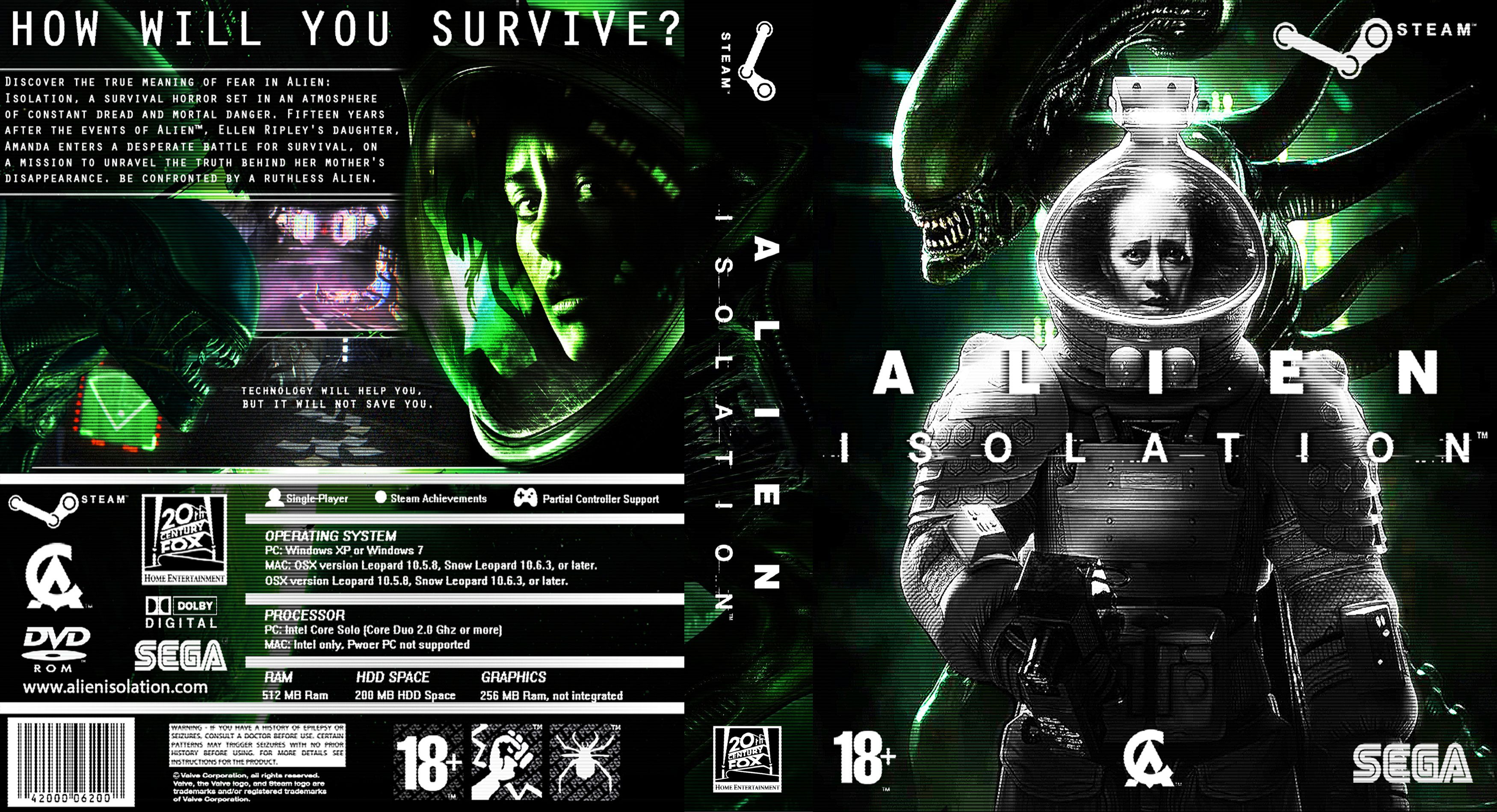 Capa Alien Isolation PC