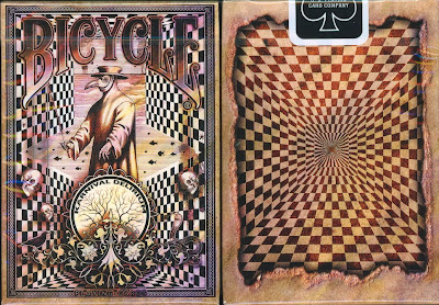 top deck cards :  Bicycle Karnival Delirium Playing Cards - new deck cards-