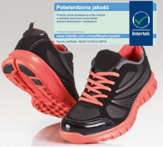 Buty sportowe damskie lub męskie z Biedronki