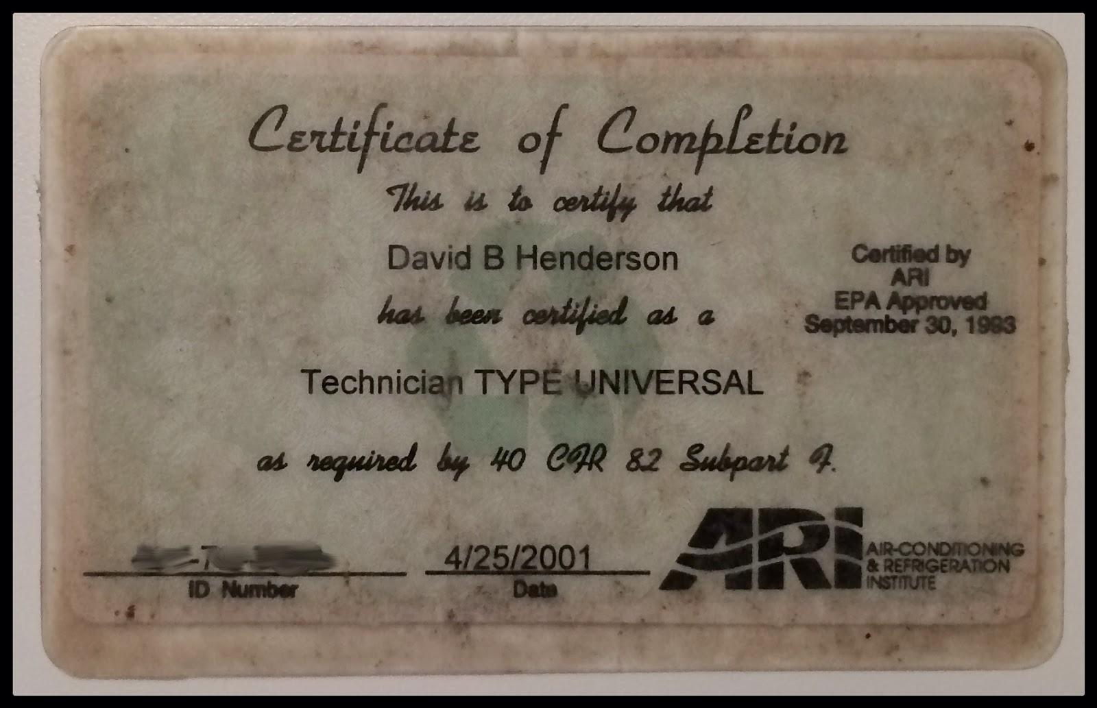 Hendersons Home Improvement Llc Licenses