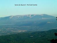 El Port del Comte des del Puig de la Caritat