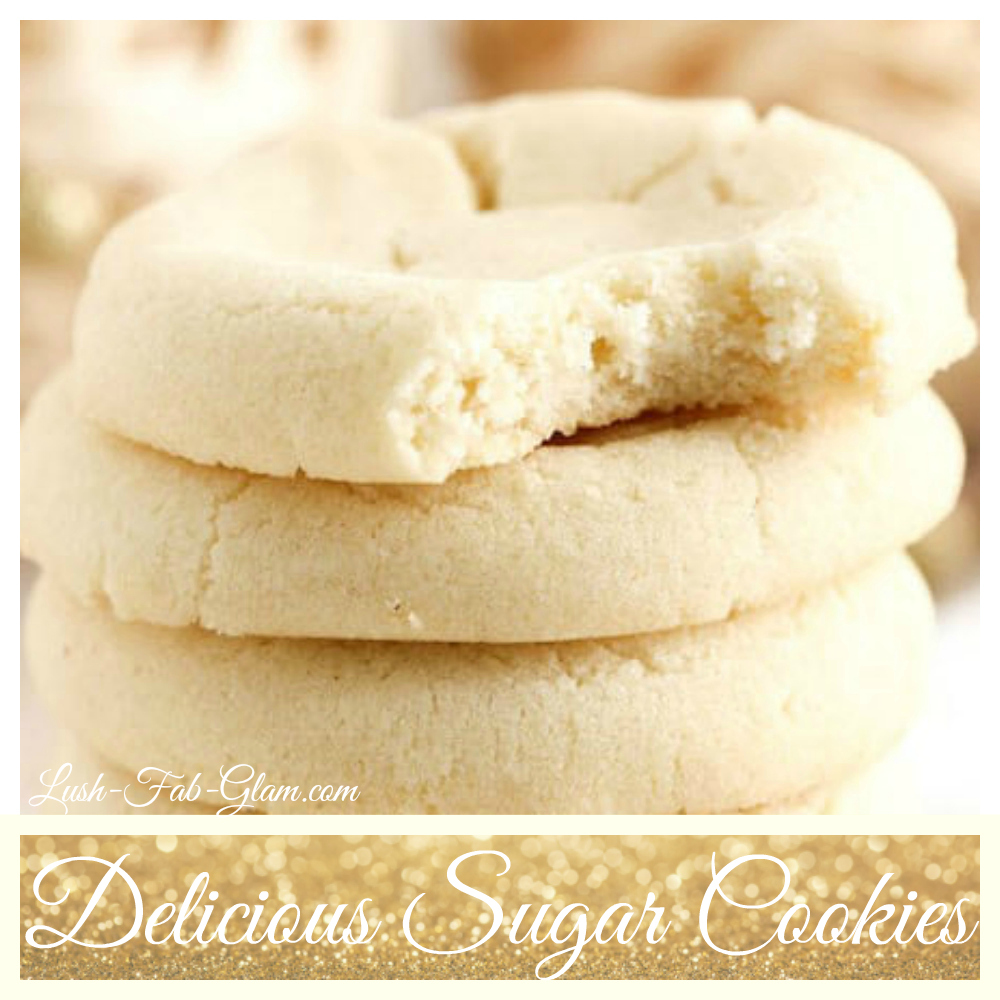 Tis The Season For Deliciously Soft & Chewy Sugar Cookies!