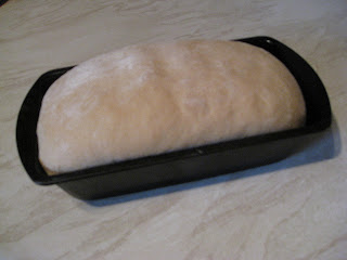 well risen bread loaf