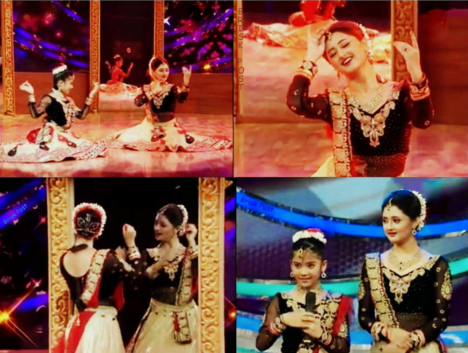 Graceful Dance performance of Rashmi Desai and Teria in DID Little Masters Season 3 show