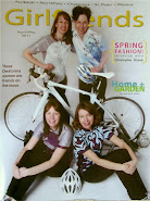 Girlfriends magazine, April 2011 issue