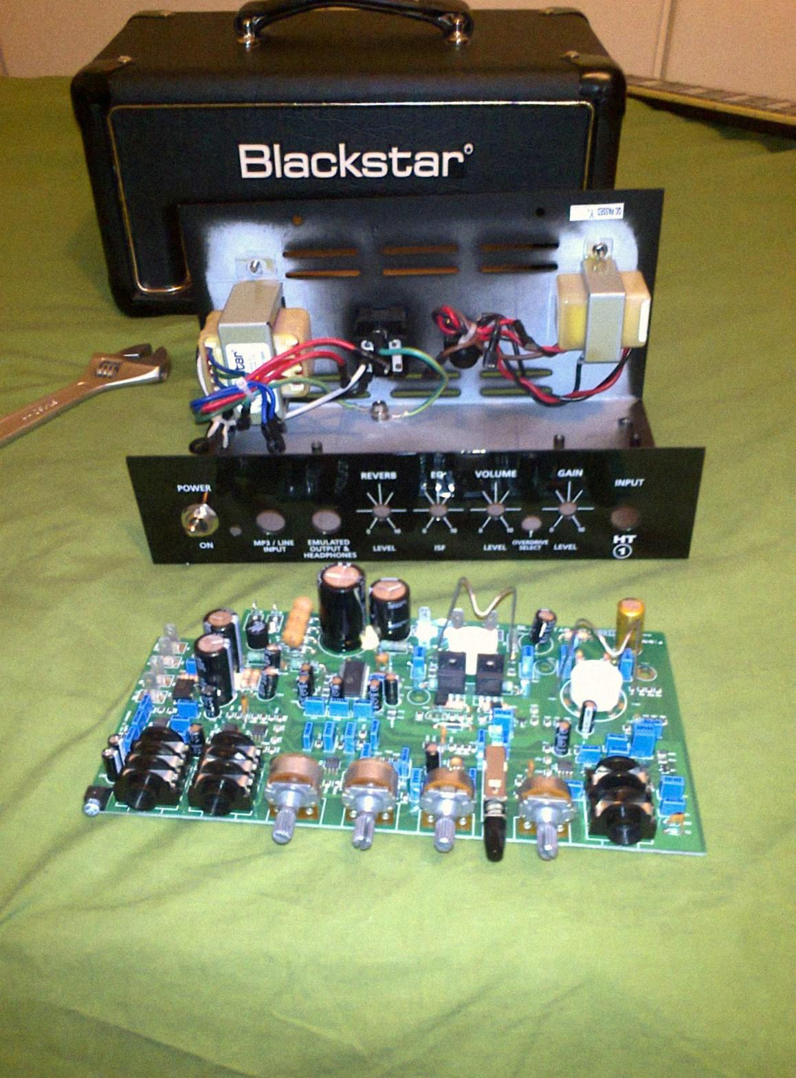 Schematic Blackstar Ht 20 Blackstar HT Metal 5 Head ...