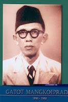 gambar-foto pahlawan nasional indonesia, Gatot Mangkupradja