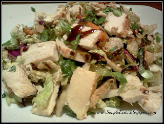 Picture of Chinese Chicken Salad.
