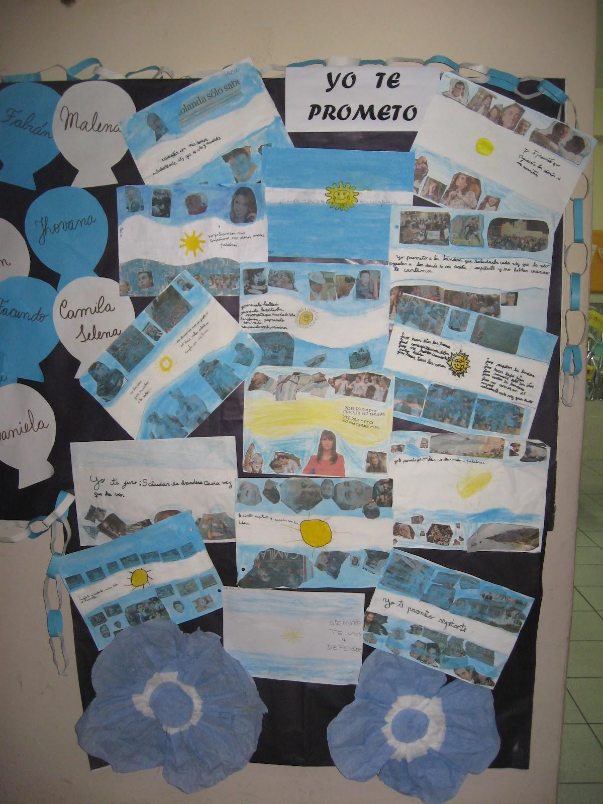 Biblioteca pablo a pizzurno escuela n 11 de 12 carteleras for Decoracion 9 de julio