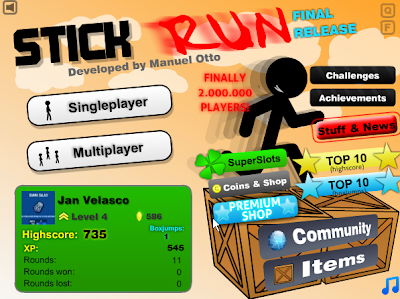 Stick+Run+Hack+Coins+with+Fiddler