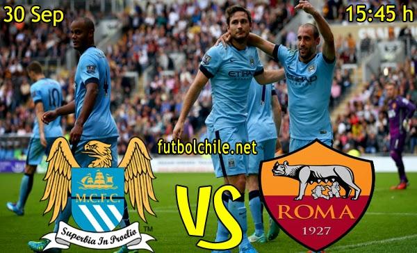 Manchester City vs Roma - Champions League - 15:45 h - 30/09/2014