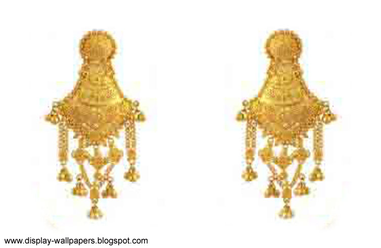 Wallpapers Download Pure Gold Earrings Designs For Girls