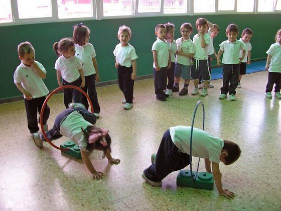 La educacion fisica alcanza sus metas formativas valiendose de medios