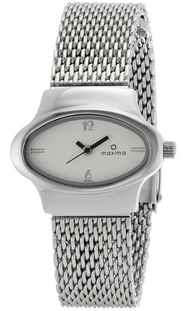 Maxima Attivo Analog White Dial Women's Watch for Rs 725