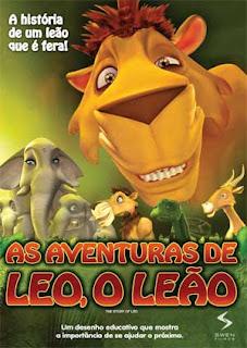 Filme As Aventuras de Leo, O Leão – Dublado