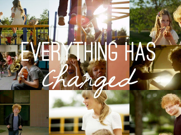Música chiclete: Taylor Swift and Ed Sheeran 'Everything Has Changed'