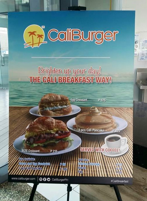 Brighten Up Your Day with CaliBurger Philippines' #CaliBreakfast