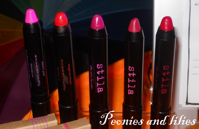 Stila after glow lip colors, Stila festival of colour, Stila SS13