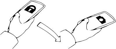 Motorola Moto X flick gesture