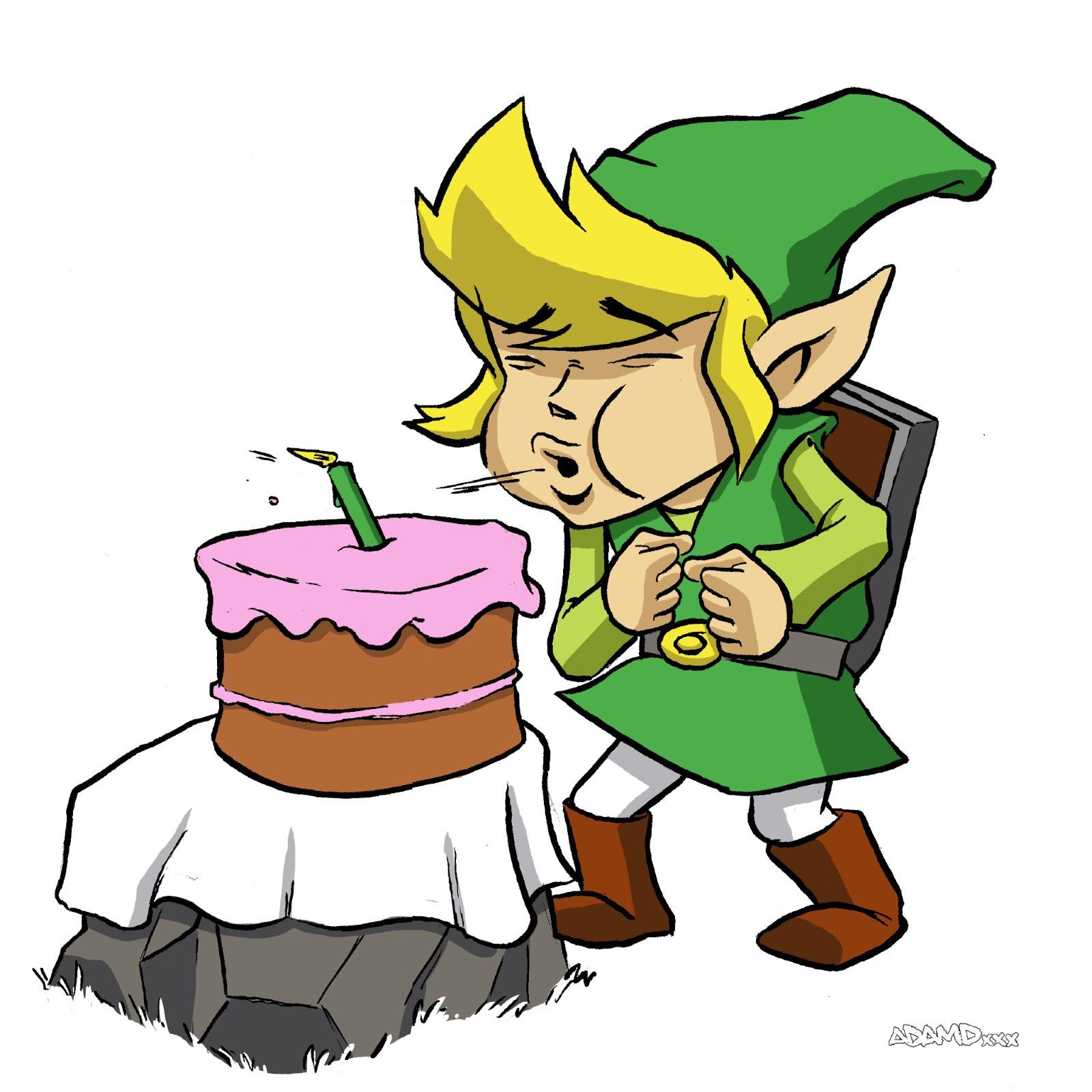 zelda happy birthday XADAMDX: Happy Birthday Legend Of Zelda! zelda happy birthday