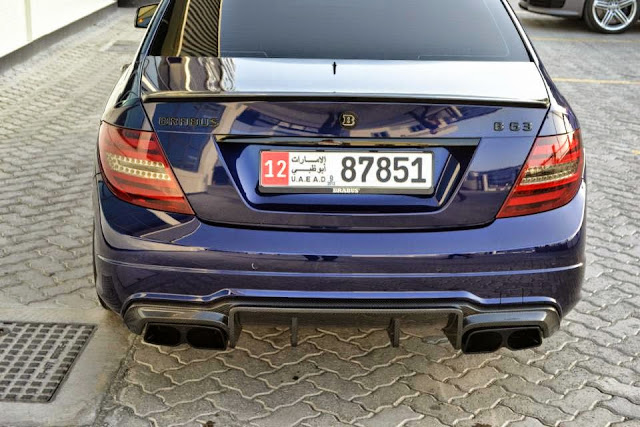 Mercedes benz c63 amg brabus b63 style benztuning for Mercedes benz usa llc brunswick ga