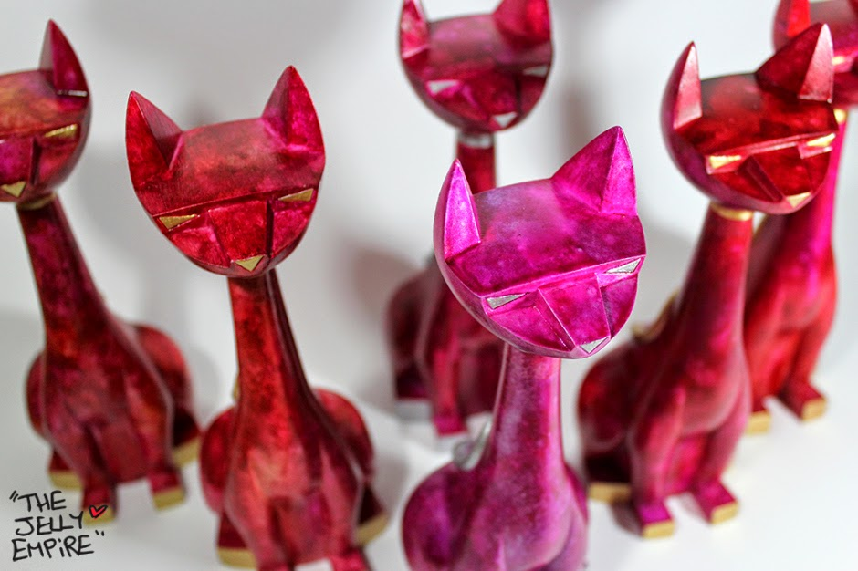 "The Jelly Empire x Argonaut Resins Valentine's Day ""Love"" Tuttz Resin Figures"