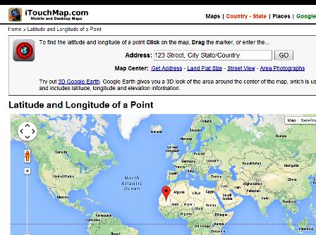 Titik Koordinat Latitude-Longitude
